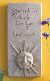 A Smile A Day Wall Plaque