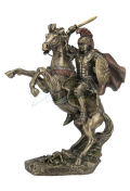 Alexander The Great On Horseback Statue