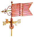 American Flag Weathervane Sculpture