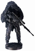 Armed Forces  American Sniper Soldier Statue
