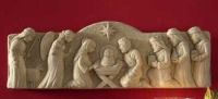 Away In The Manger Nativity Wall Plaque