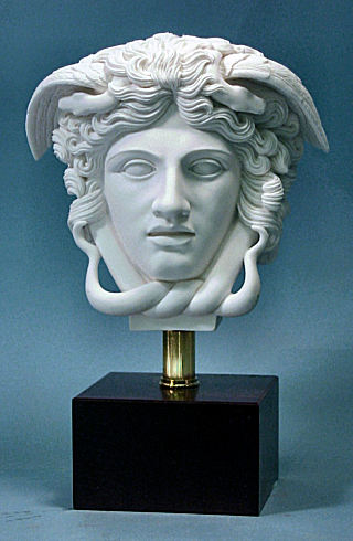 Head Of Medusa Sculptural Bust 9