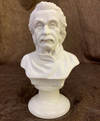 Einstein Bust Sculpture 6