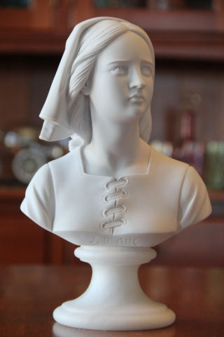 Jeanne D'arc - Joan Of Arc Bust 10.5