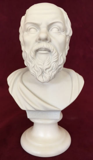 Bust of Socrates Marble Statue 6