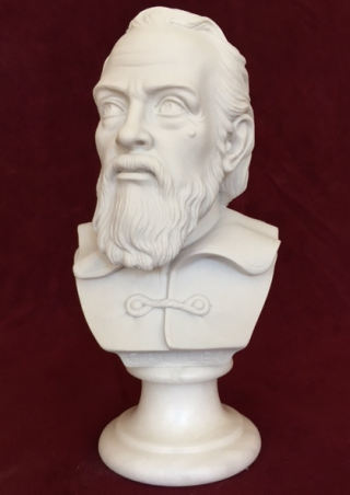 Bust of Galileo Marble Statue 6