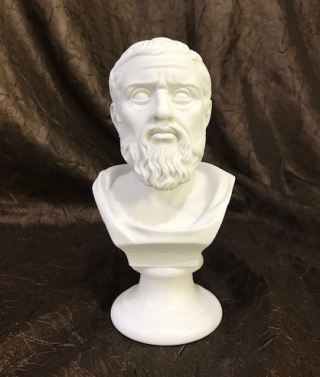 Bust of Plato Marble Sculpture 6