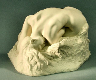 Danaide By Auguste Rodin Statue Marble