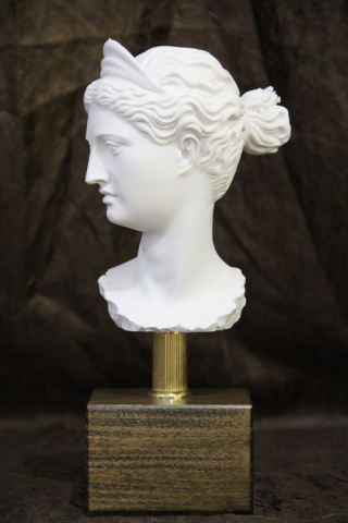 Head of Diana Bust on Base Statue 10