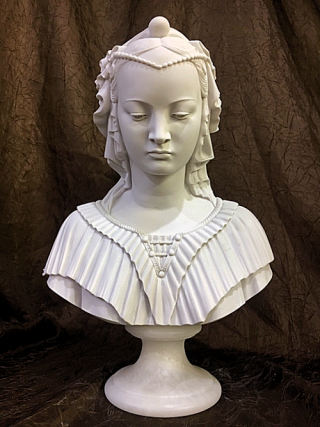Angelica Maria Bust Statue 13