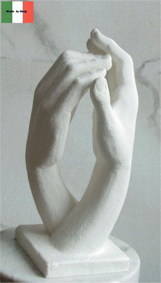 Cathedral Hands By Auguste Rodin Statue 13