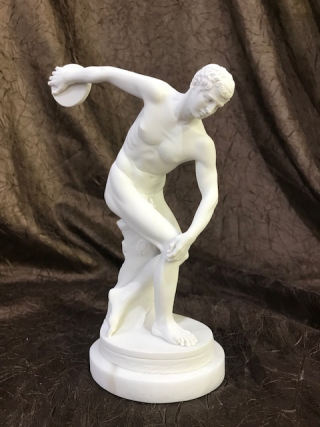 Discus Thrower Sculpture 8.5