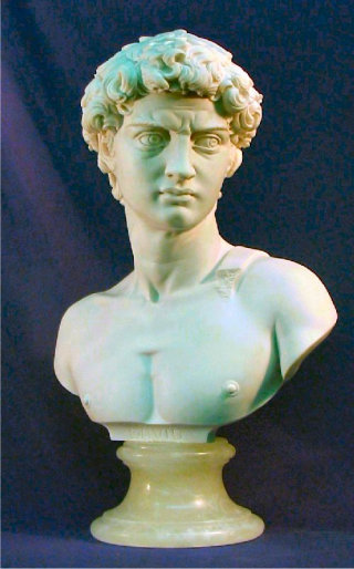 David Bust By Michelangelo 11