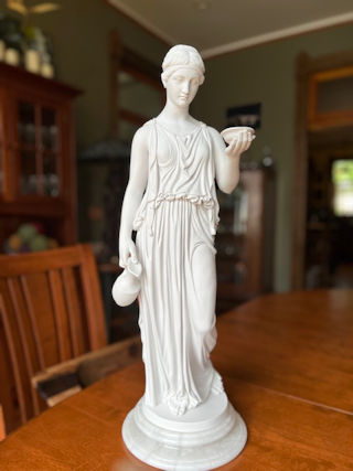 Hebe Goddess of Youth Marble Statue 26