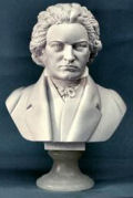 Beethoven Bust Marble Statue 13