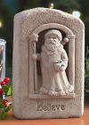 Believe in Santa Claus Plaque