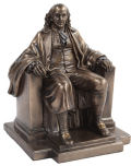 Benjamin Franklin Statue Bronze Finish