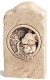 Berry Mouse Statue Wall Hanging
