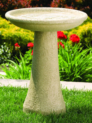 Birdbaths, Bird Feeders, Birdhouses