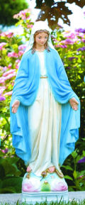 Blessed Mother Mary Garden Statue