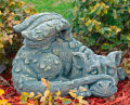 Blushing & Bashful Dragon Statue