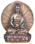 Buddha Amitabha Asian Art Sculpture