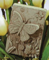 Butterfly Meadow Wall Plaque Sculpture