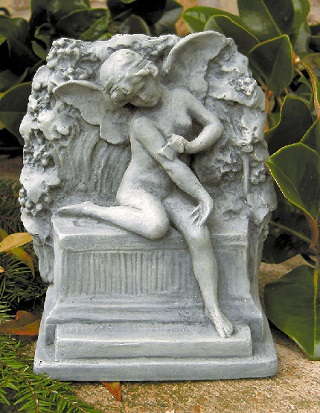 Butterfly Fairy Cement Statue