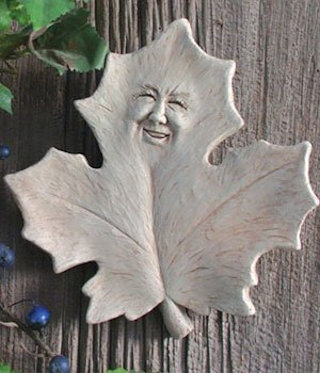 Mabel Leaf Plaque Wall Sculpture