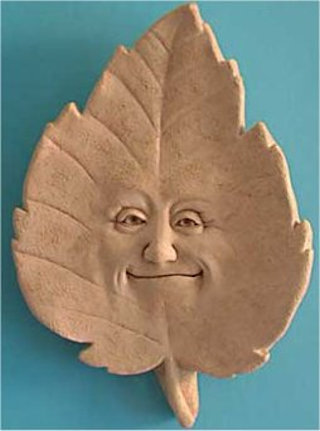 Linden B. Leaf Plaque Wall Sculpture