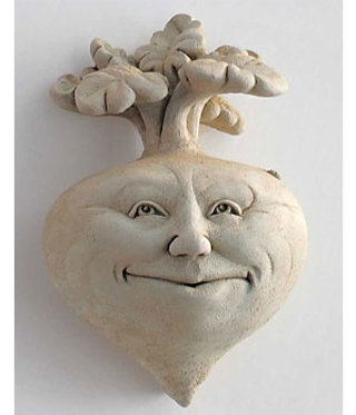 Rutabaga Mama Wall Sculpture