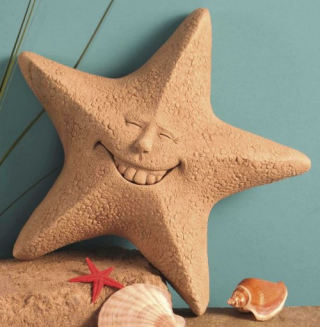 Feeling Unshellfish - Star Fish Plaque