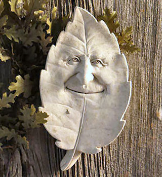 Shady Character - Leaf Plaque