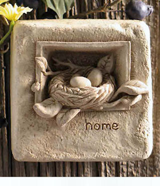 Home Mini Plaque Or Free Standing Statue
