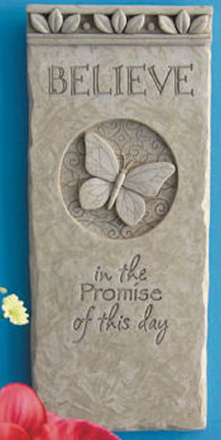 Embrace The Day Plaque Sculpture