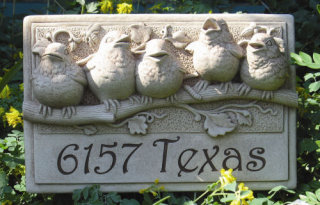 Baby Birds Engravable Wall Hanging