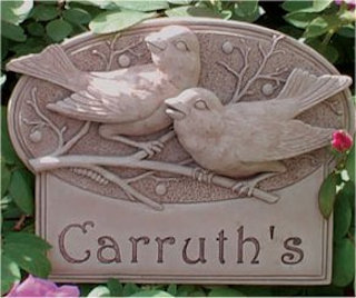 Berrybirds Plaque Engravable