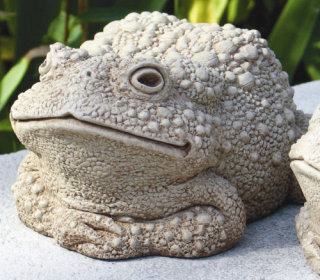 Todd's Mom Garden Toad Statue