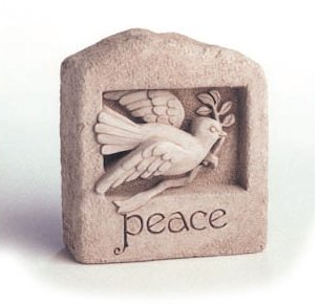 Wings of Peace Dove Wall Sculpture