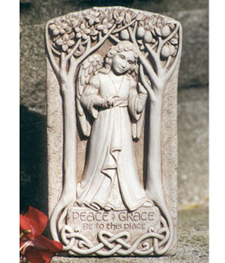 Peace & Grace Angel Wall Plaque