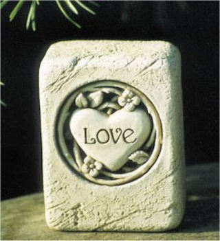 Love Mini Stone Sculpture