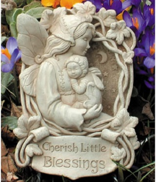 Cherish Little Blessings Wall Plaque