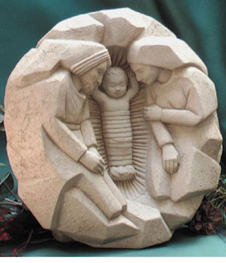 Washington Cathedral Nativity Sculpture