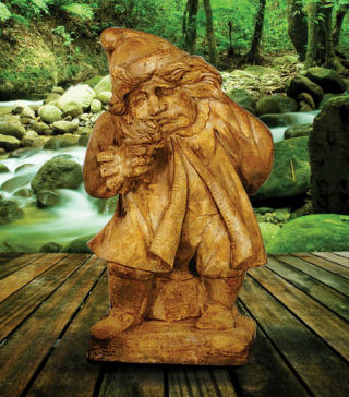 Gnome Of Pity Statue Cast Stone