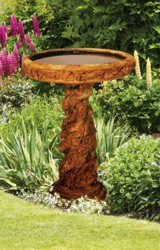 Grape Vine Birdbath Sculptural