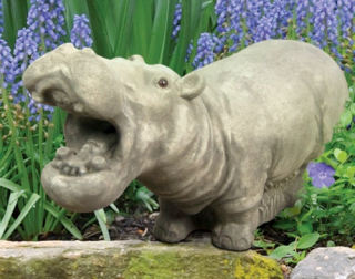 Hippo Sculpture Or Water Feature