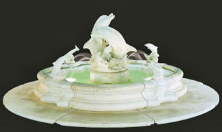 Grande Millennia Dolphin Fountain 23pc