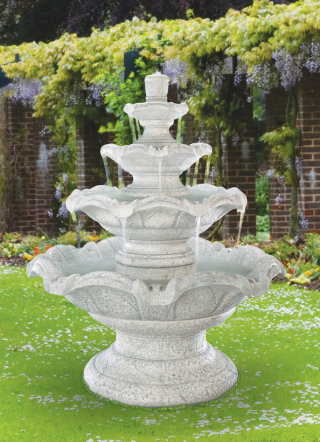 Quattro Classic Tier Fountain Grand Scale