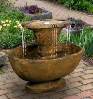 Alfresco Oval Garden Fountain