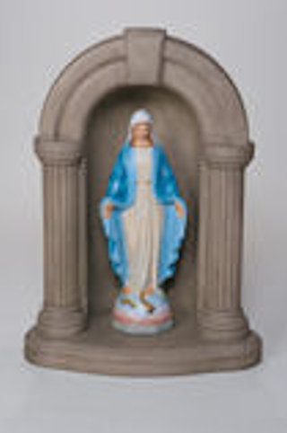 Blessed Mother Mary Sculpture & Keystone Grotto